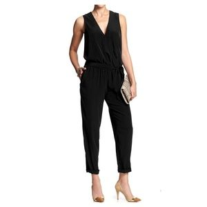 Banana Republic Black Rio Jumpsuit